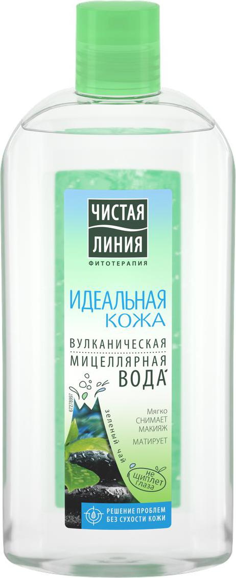 Чистая Линия мицеллярная вода Идеальная кожа, 400 мл