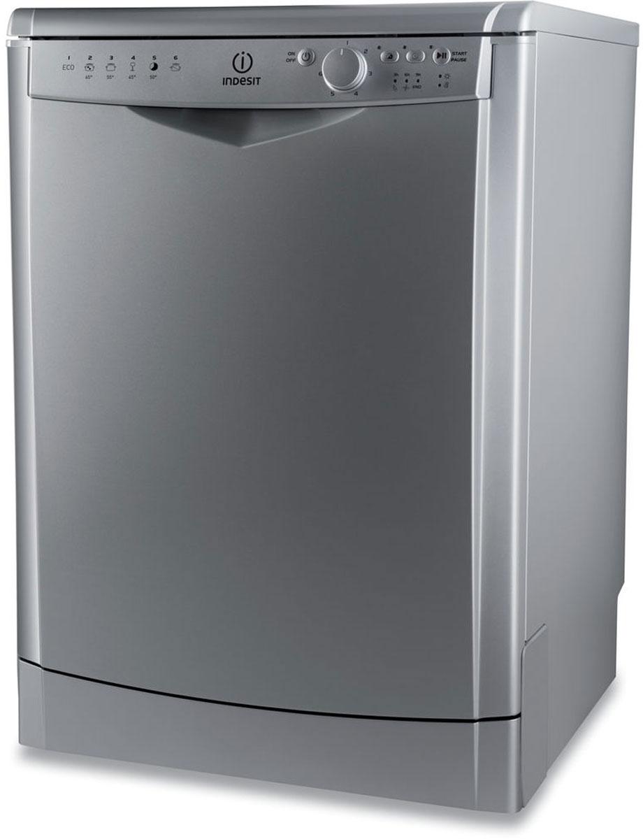 Посудомоечная машина Indesit DFG26B1NXEU, Silver