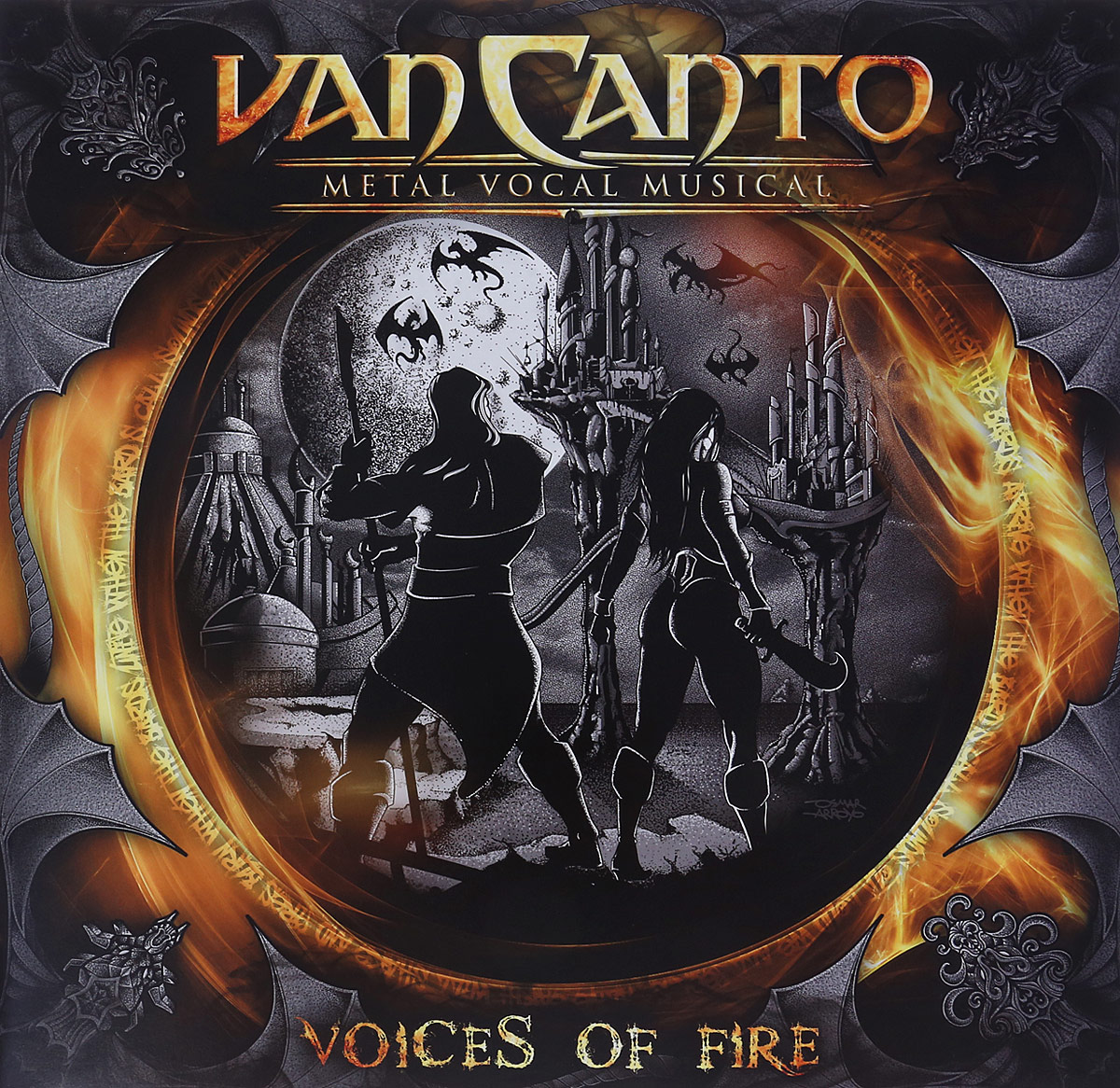 Van Canto Van Canto. Vocal Music. Voices Of Fire (LP) van canto van canto voices of fire
