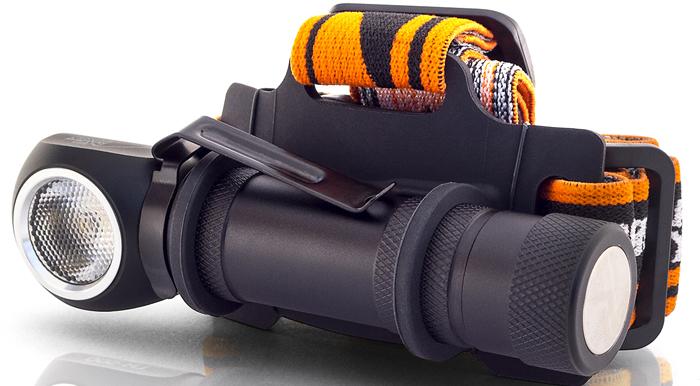 Фонарь налобный Яркий луч Enot. LH-500, цвет: черный