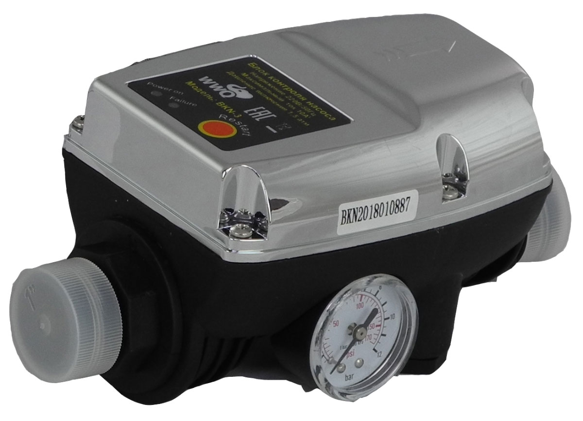 Блок контроля насоса WWQ BKN-3 набор фитингов для подключения насоса 1