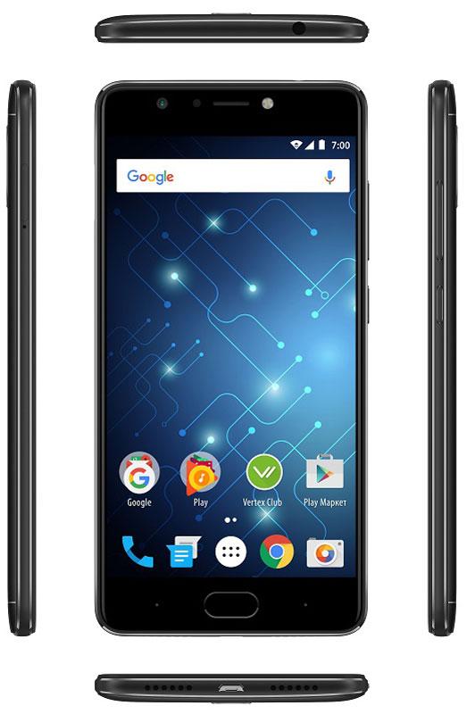 Смартфон Vertex Impress Play 3/32GB, черный Vertex