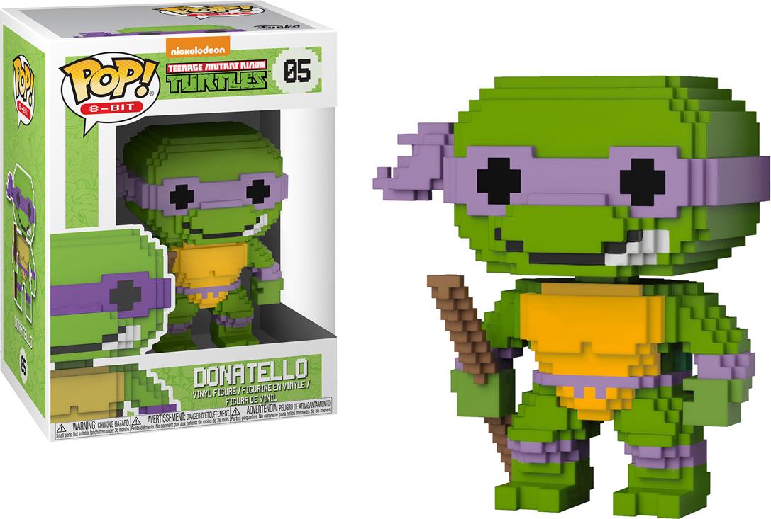 Funko POP! Vinyl Фигурка TMNT: 8-Bit Donatello 22983 the mutant files teenage mutant ninja turtles