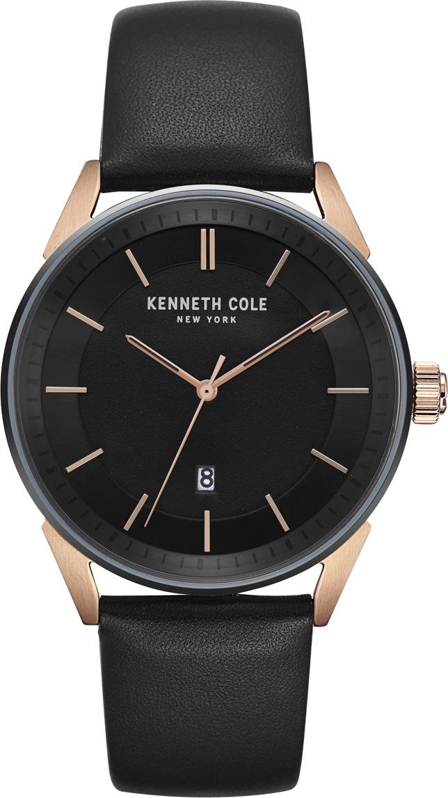 Часы наручные мужские Kenneth Cole, цвет: черный. KC50190004 все цены