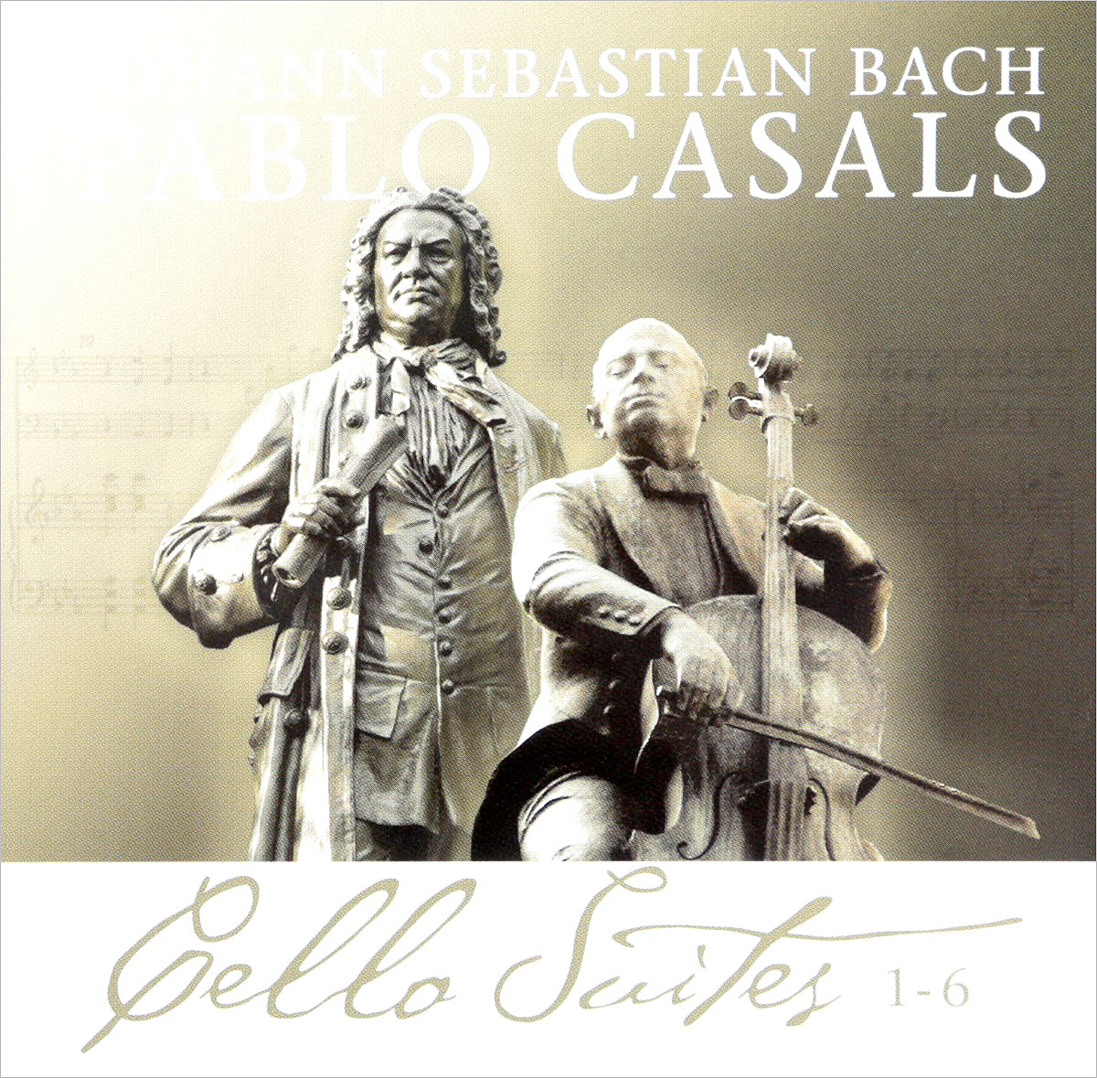 Иоганн Себастьян Бах,Пабло Касалс Johann Sebastian Bach. Pablo Casals. Cello Suites 1-6 (2 CD) andras schiff bach french suites nos 1 6 italian concert 2 cd