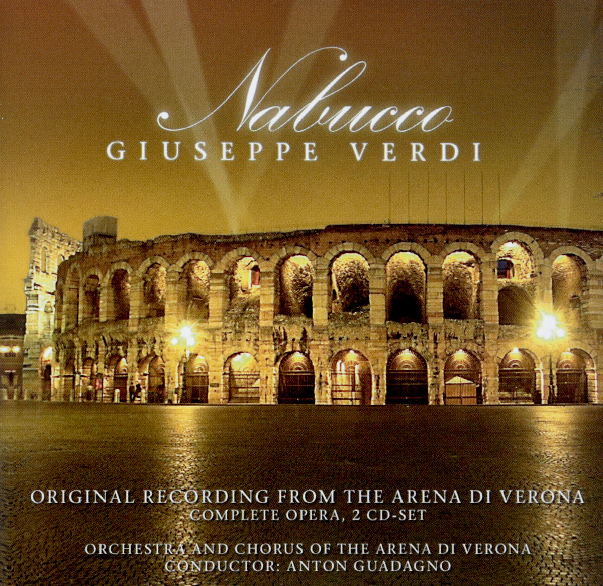 Джузеппе Верди,Паоло Силвери,Марио Бинси Giuseppe Verdi. Nabucco. Original Recording From The Arena Di Verona verdi nabucco arena di verona