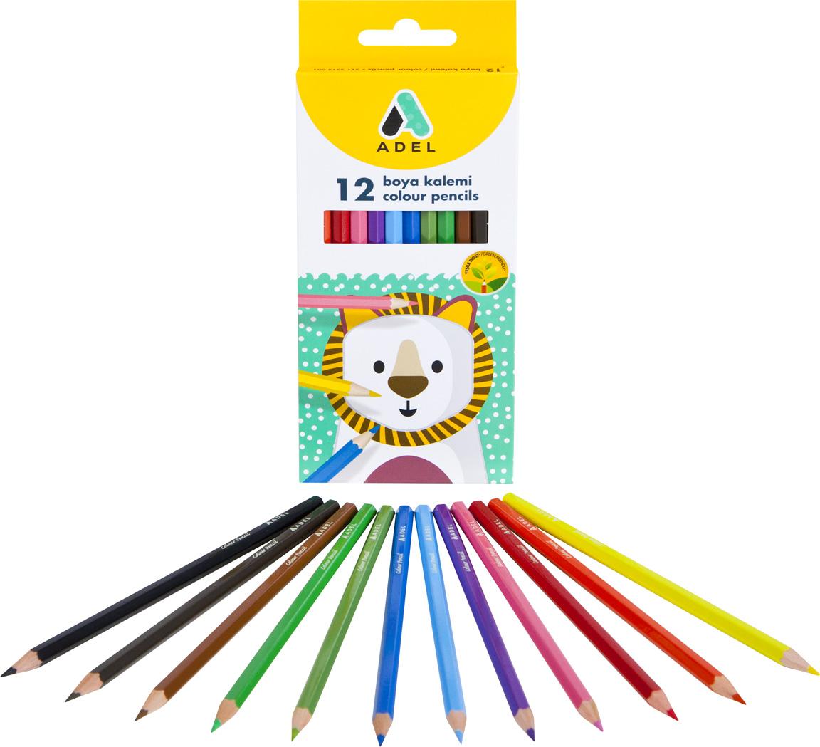 Adel Набор цветных карандашей 12 шт