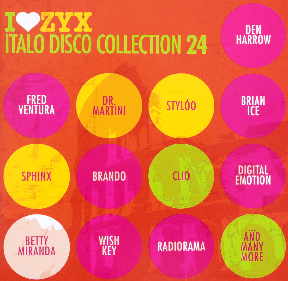 Дэн Хэрроу,Фред Вентура,Styloo Italo Disco Collection 24 (3 CD) цена и фото
