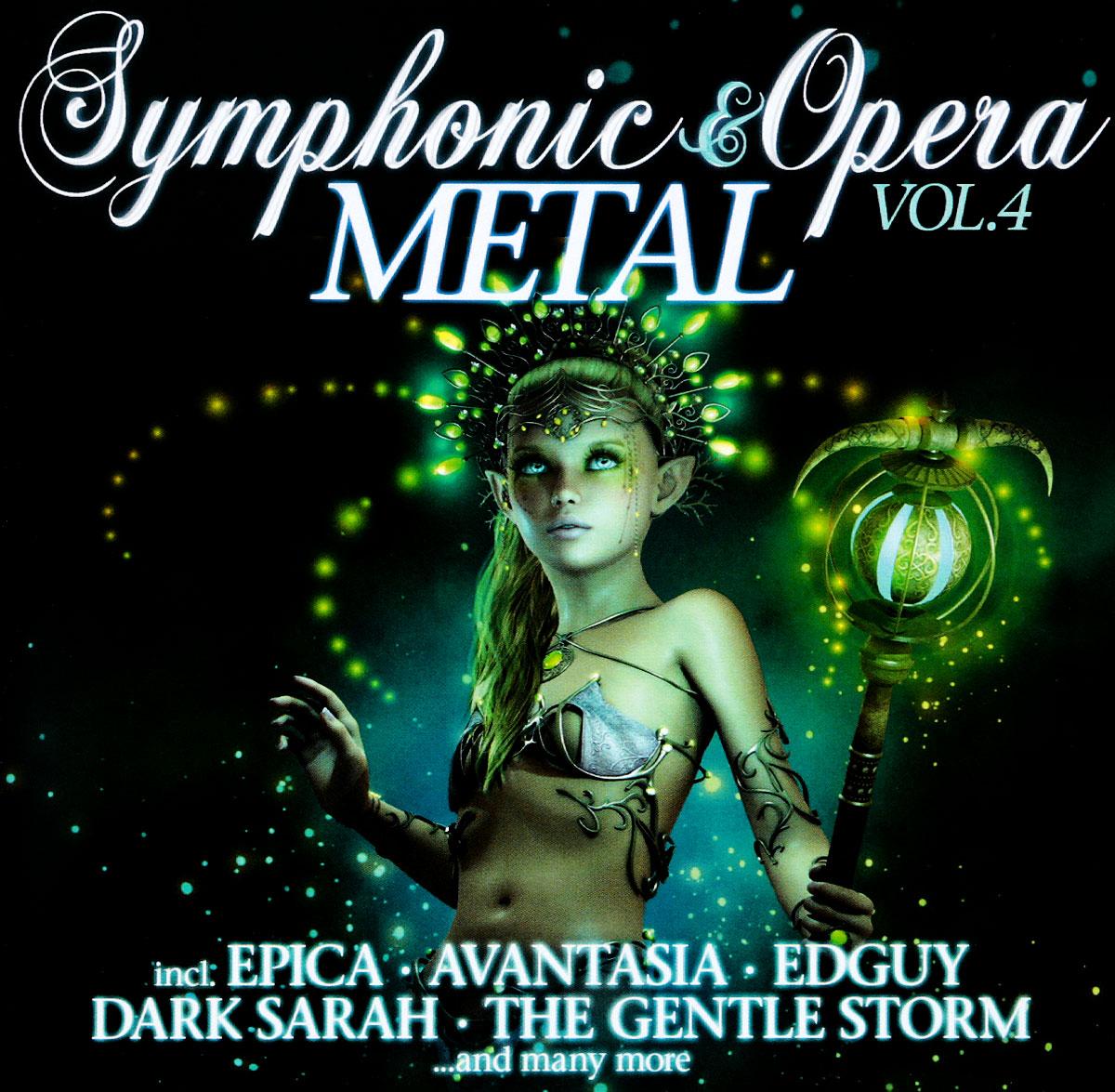 Edguy,Epica Symphonic & Opera Metal. Vol.4 (2 CD) symphonic metal dark