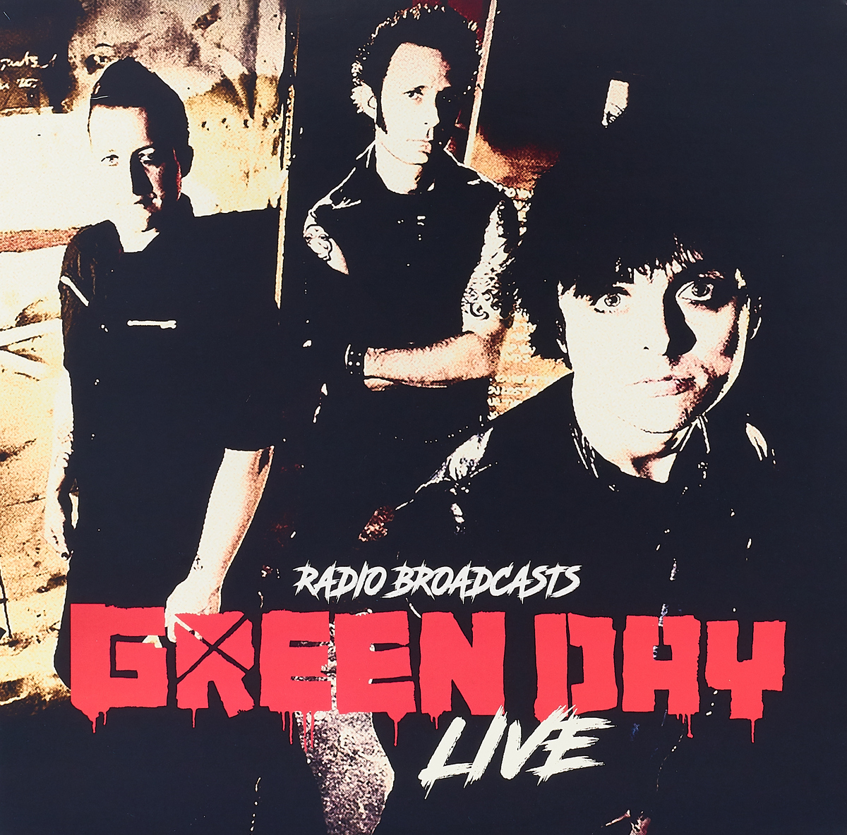 Green Day Green Day. Live Radio Broadcasts (LP) green day green day on the radio 2 lp