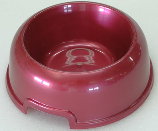 "Миска для животных ""HomePet"", цвет: красный перламутр, 300 мл"