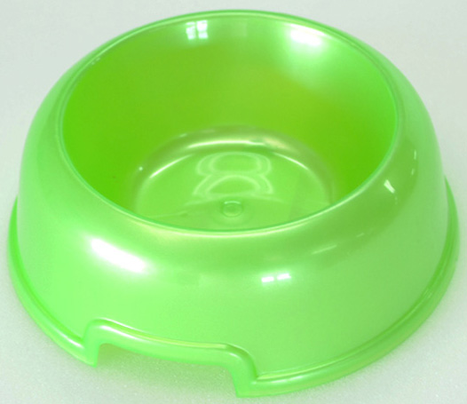 """Миска для животных """"HomePet"""", цвет: зеленый перламутр, 300 мл"""