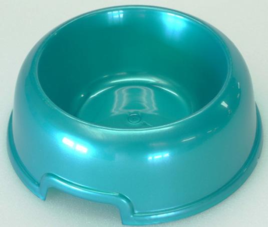 """Миска для животных """"HomePet"""", цвет: бирюзовый перламутр, 300 мл"""