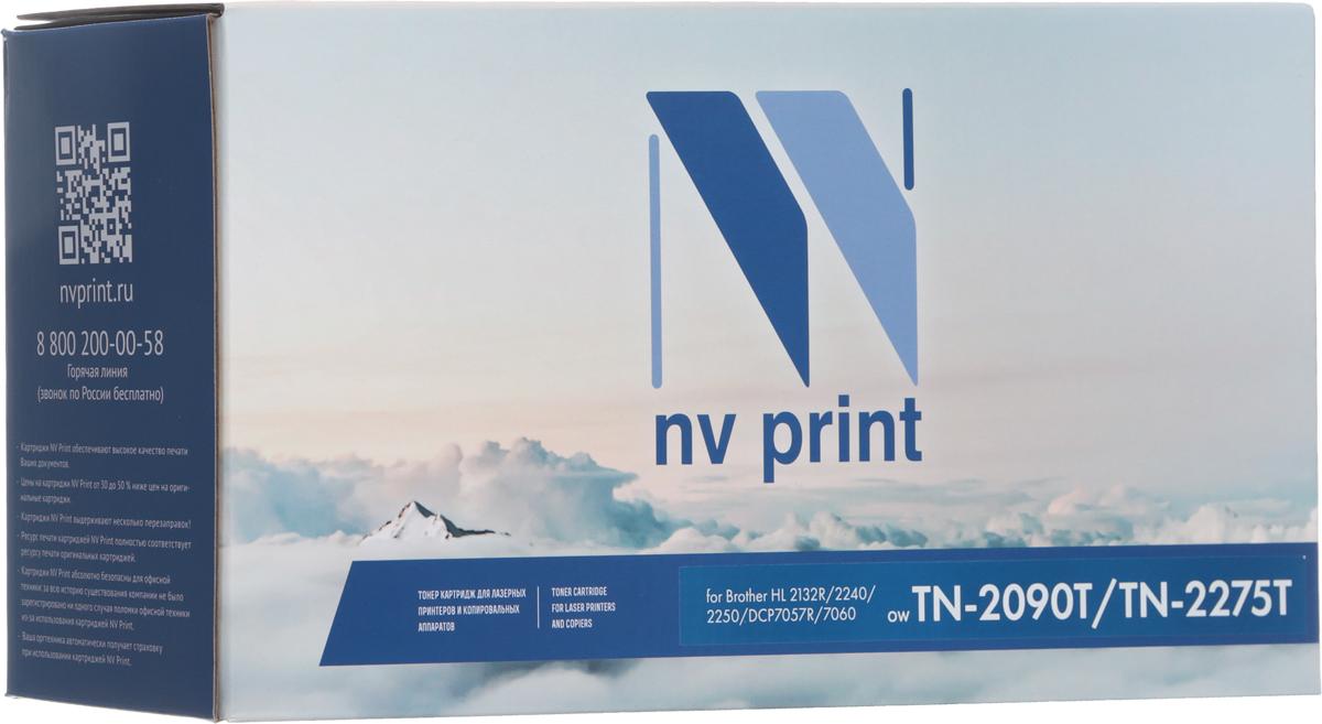 Тонер-картридж NV Print TN-2090/TN-2275 UNIV, черный, для лазерного принтера, совместимый