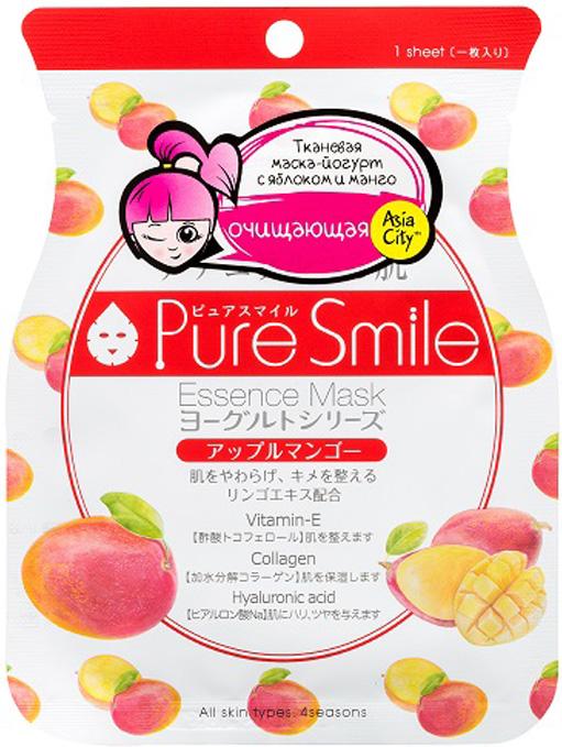 Sunsmile Yougurt Маска для лица на йогуртовой основе с яблоком и манго, 1 шт1018452Это очищающая тканевая маска для лица на йогуртовой основе от японского бренда SunSmile. Она выручит тебя, если: 1. Ты хочешь очистить и выровнять текстуру кожи. 2. Ты хочешь увлажнить сухую кожу лица. 3. Ты хочешь, чтобы кожа дольше оставалась молодой и упругой.Маска содержит множество полезных ингредиентов для заботы о коже: Йогурт содержит аминокислоты, которые обладают мощным увлажняющим действием и предотвращают пересыхание кожи, а молочная кислота в его составе способствует мягкому отшелушиванию ороговевших клеток. Экстракт яблока смягчает кожу и выравнивает ее текстуру. Экстракт манго увлажняет и защищает кожу от негативного воздействия окружающей среды. Гиалуроновая кислота создает водную мантию на коже, глубоко увлажняет ее и заполняет углубления в коже, разглаживая мимические морщины. Гидролизованный коллаген – белок, обеспечивающий прочность и эластичность кожи. Крохотные молекулы коллагена проникают глубоко в кожу и разглаживают ее, как пружинки.Рекомендем: для нормальной или комбинированной кожи в любое время года.Как применять маску?1. Очисти кожу с помощью любимого средства.2. Расправь маску, наложи на лицо и разгладь руками.3. Оставь маску на коже на 15-20 минут и подумай о хорошем 4. Не смывай остатки сыворотки на лице, а просто распредели ее по коже равномерными похлопывающими движениями.Для лучшего эффекта применяй маску 3-4 раза в неделю – кожи лица всегда будет на высоте.Как хранить? Не стоит держать маску в доступном для детей месте и хранить открытую ...