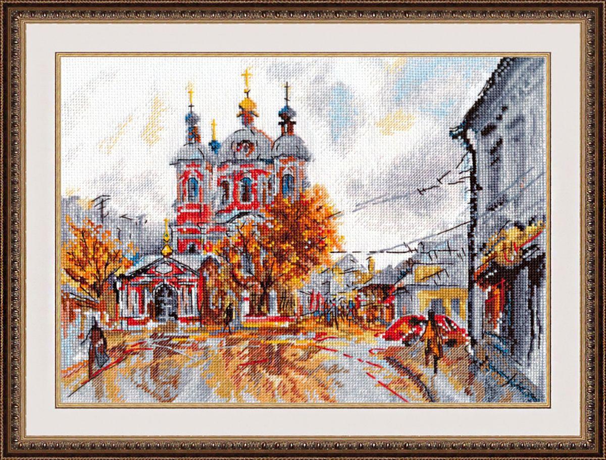 Набор для вышивания крестом Овен Храм Святого Климента, 27 х 21 см набор для вышивания крестом овен наш цветочек 23 х 24 см