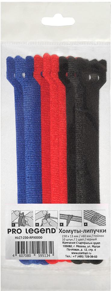 Pro Legend PL9602, Color стяжка для кабеля 150 мм х 12 мм 9 шт