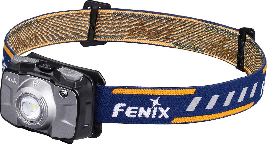 цена на Фонарь налобный Fenix HL30 2018, цвет: серый