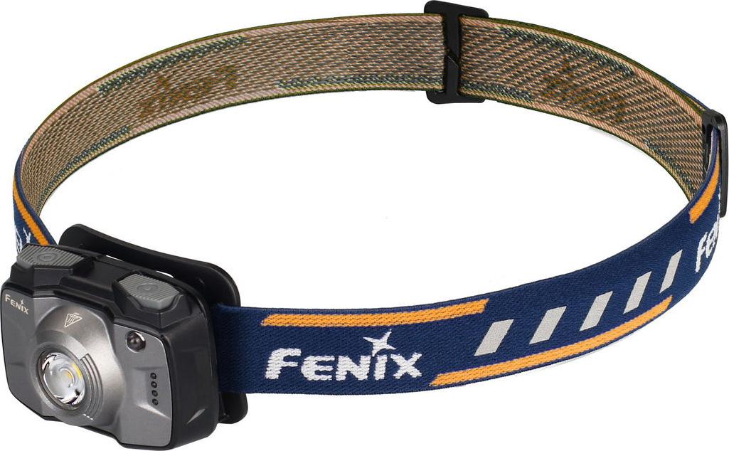 Фонарь налобный Fenix HL32R, цвет: серый