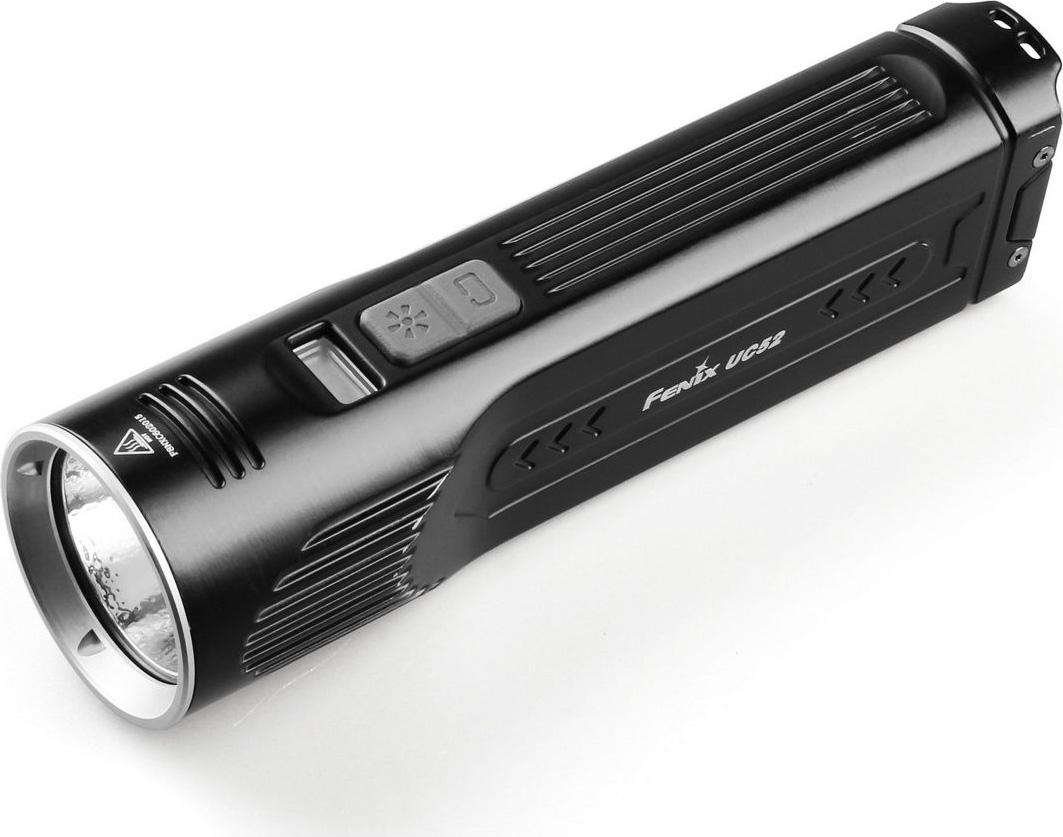 """Фонарь ручной аккумуляторный Fenix """"UC52"""", цвет: черный"""