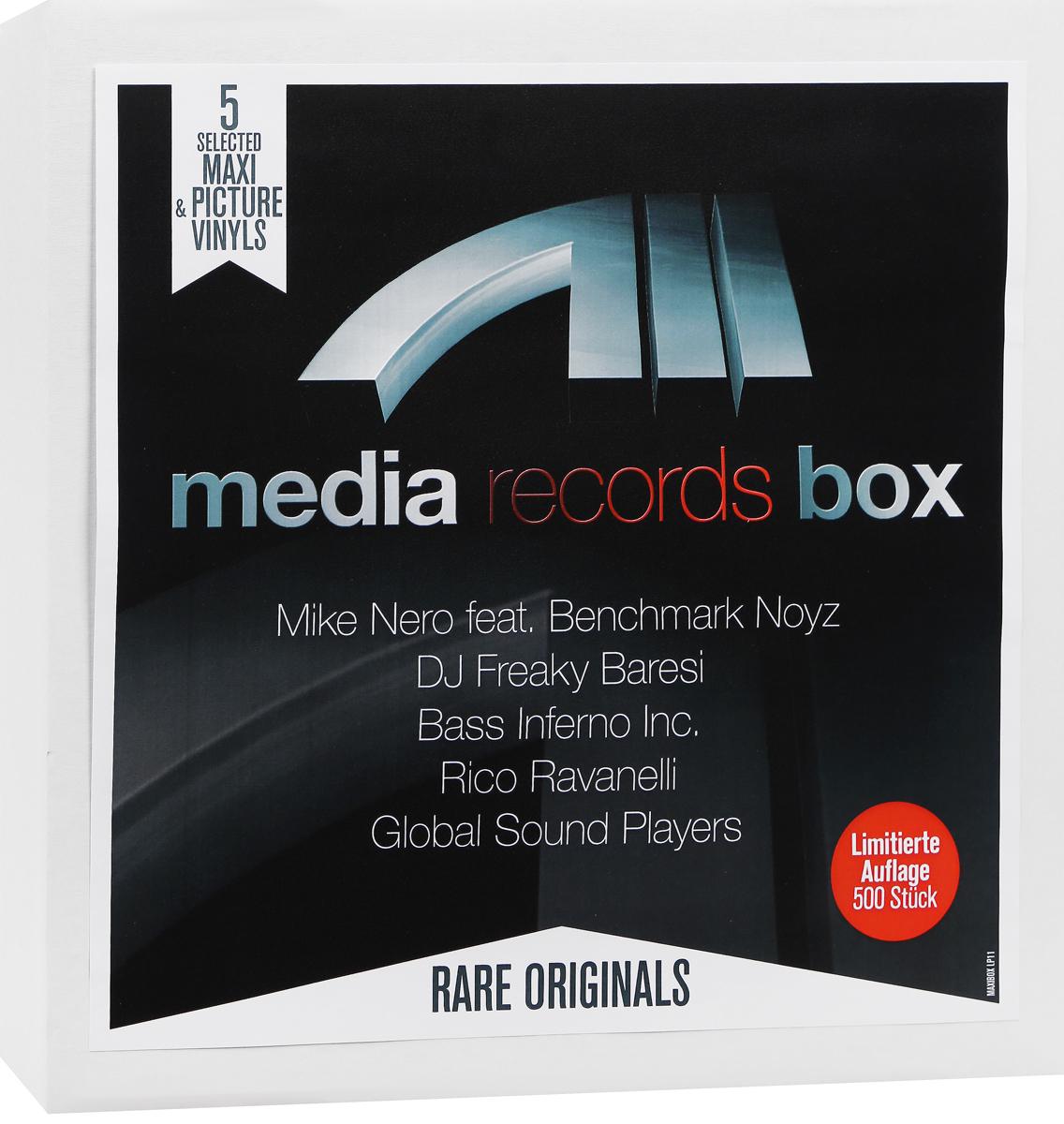 лучшая цена Mike Nero,Rico Ravanelli,DJ Freaky Baresi Media Records Box (5 LP)