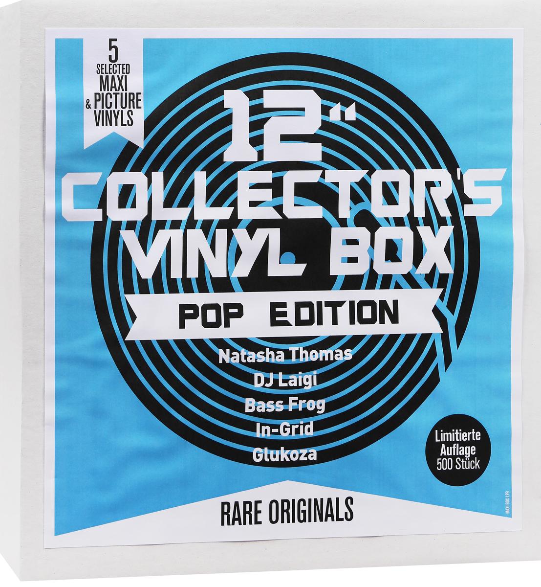 "12"" Collector's Vinyl Box. Pop Edition (5 LP)"