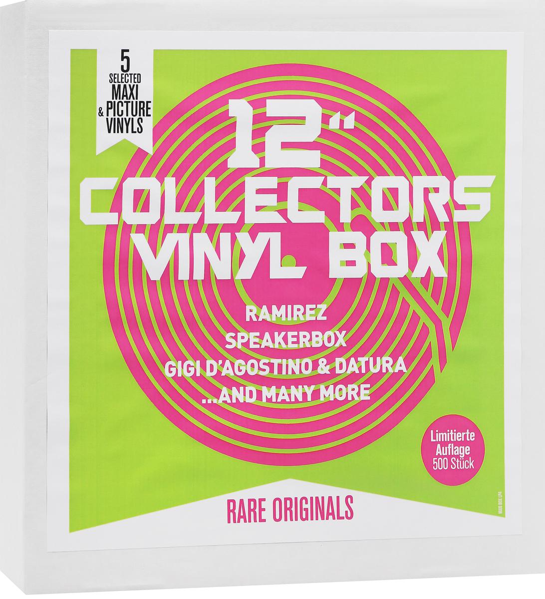 Жижи Д'Агостино,Datura,Speakerbox,Ramires 12 Collector's Vinyl Box (5 LP) фрик номд dj ramires freak nomad new account mixed album by dj ramires
