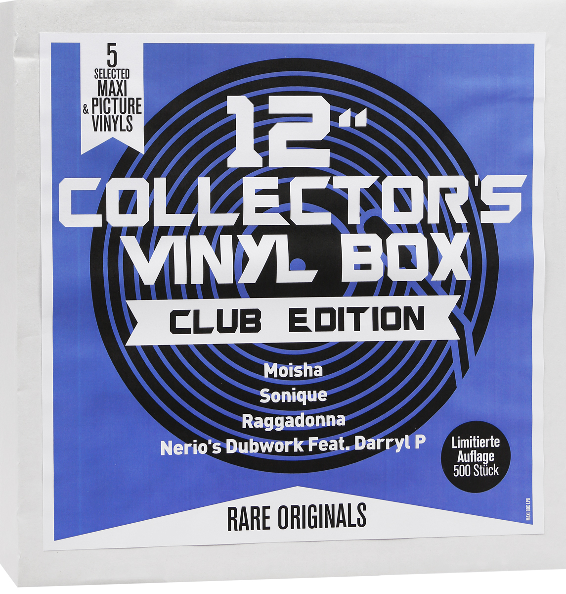 "12"" Collector's Vinyl Box. Club Edition (5 LP)"