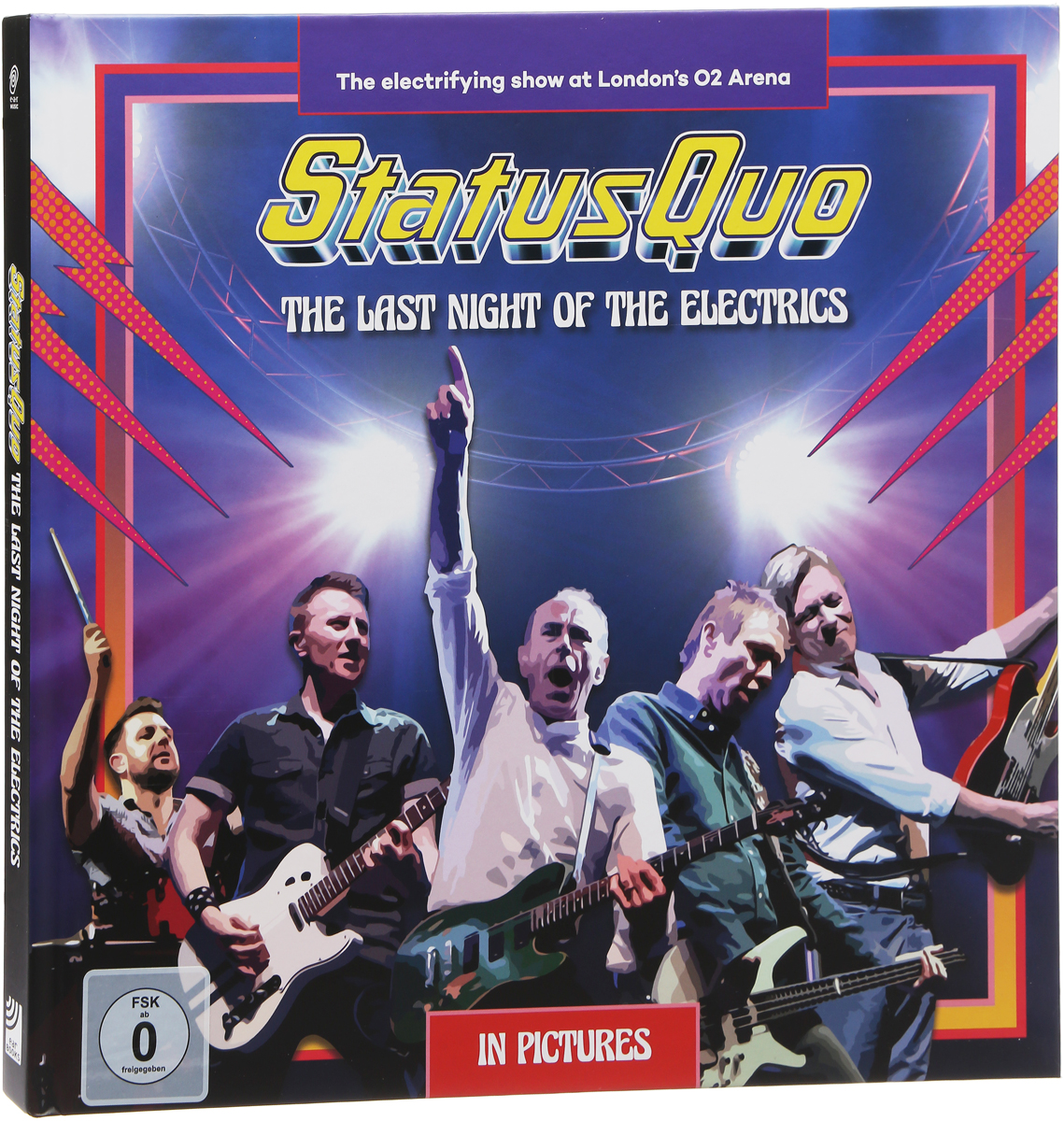 Status Quo Status Quo. The Last Night Of The Electrics (2 CD + DVD + Blu-ray) status quo status quo hello deluxe edition 2 cd