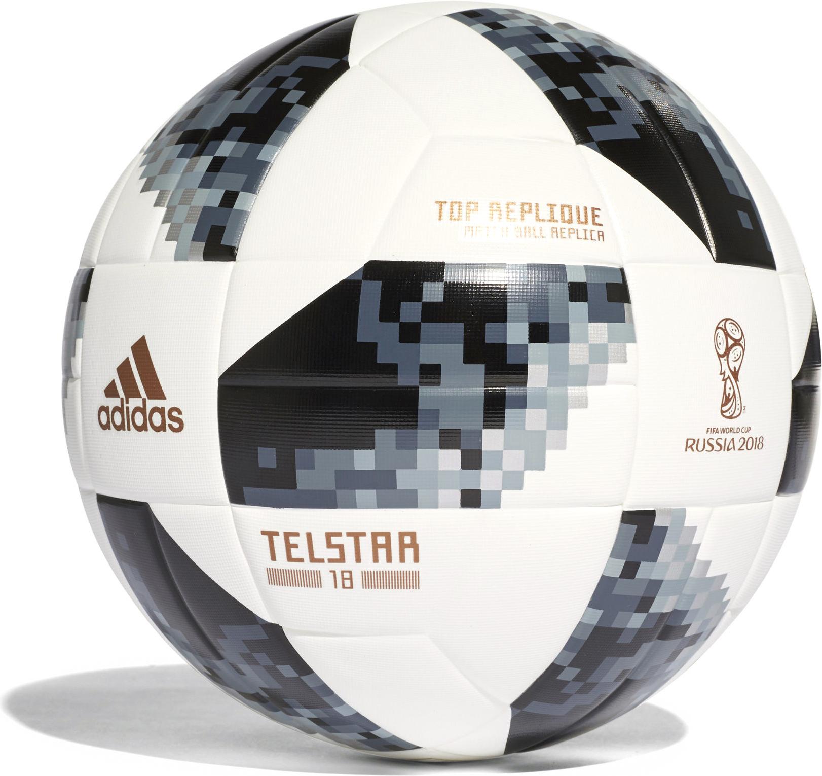 Мяч футбольный Adidas Fifa World Cup, цвет: белый, черный. Размер 5 мяч футбольный fifa 2018 sochi размер 5