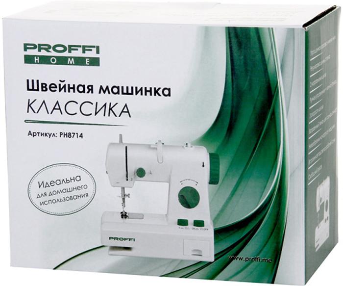 ProffiКлассика PH8714, White швейная машинка Proffi