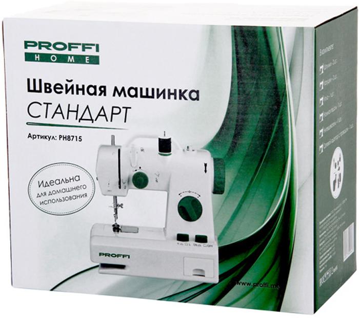 ProffiСтандарт PH8715, White швейная машинка Proffi