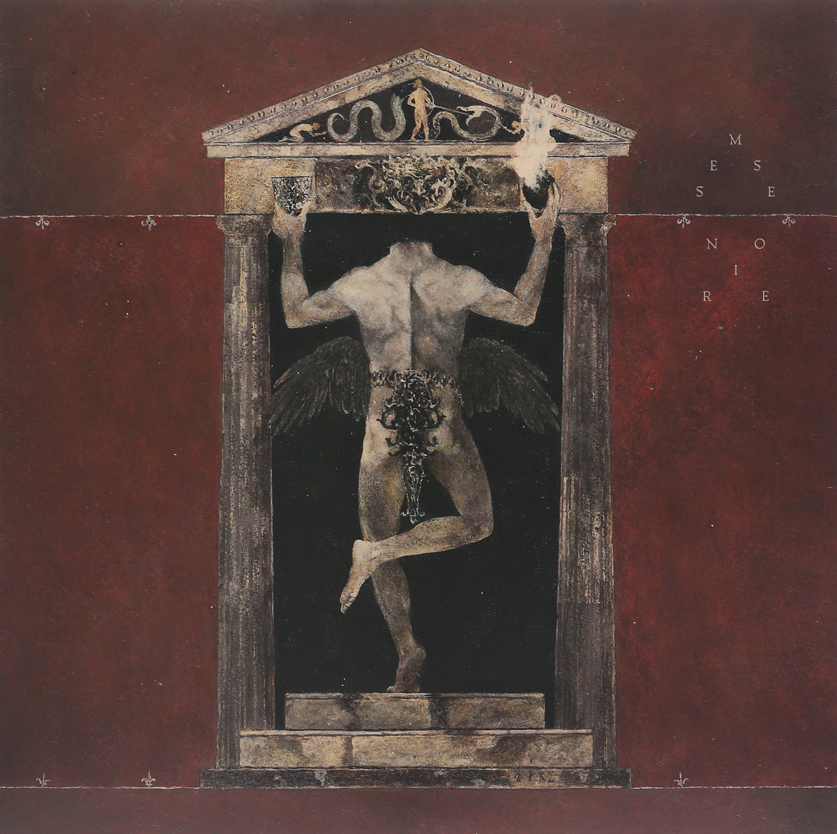 Behemoth Behemoth. Messe Noire (2 LP) behemoth behemoth pandemonic incantations