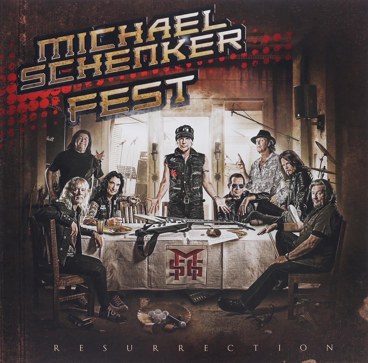 Michael Schenker Fest Michael Schenker Fest. Resurrection (2 LP) various artist facedown fest 2004 2 dvd