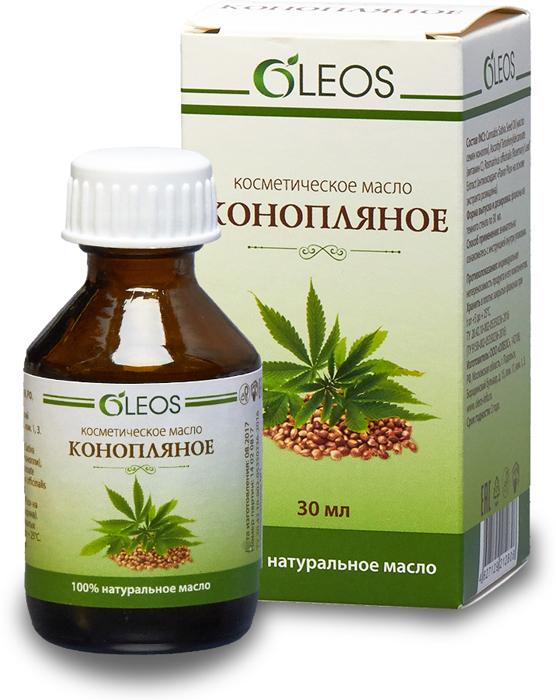 Косметическое масло Конопляное Oleos, 30 мл для кожи микроэлементы