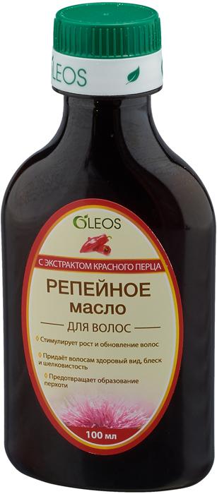 Репейное масло с экстрактом красного перца Oleos, 100 мл Oleos