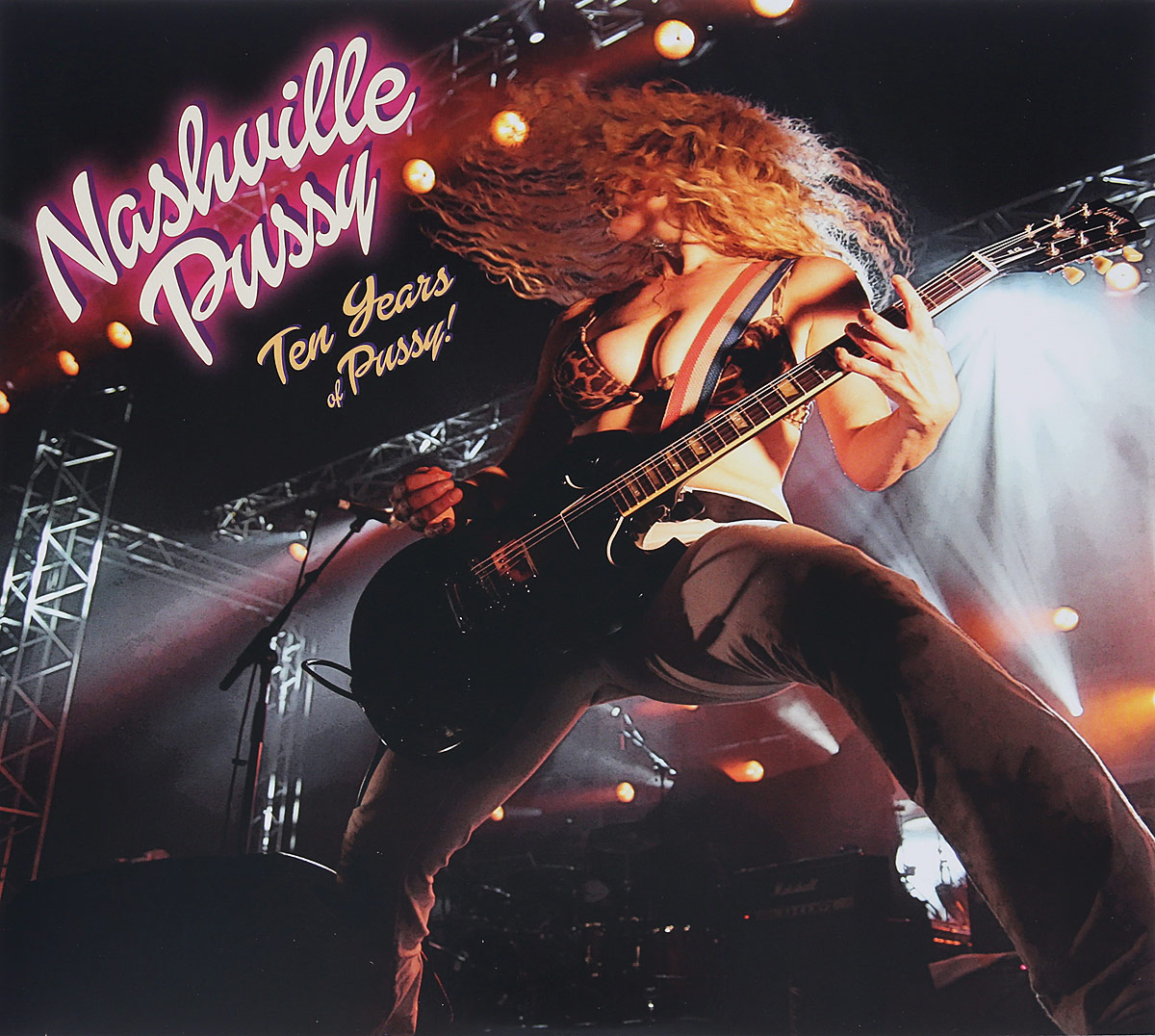 Nashville Pussy Nashville Pussy. Ten Years Of Pussy (2 LP + CD) pussy bow semi sheer blouse