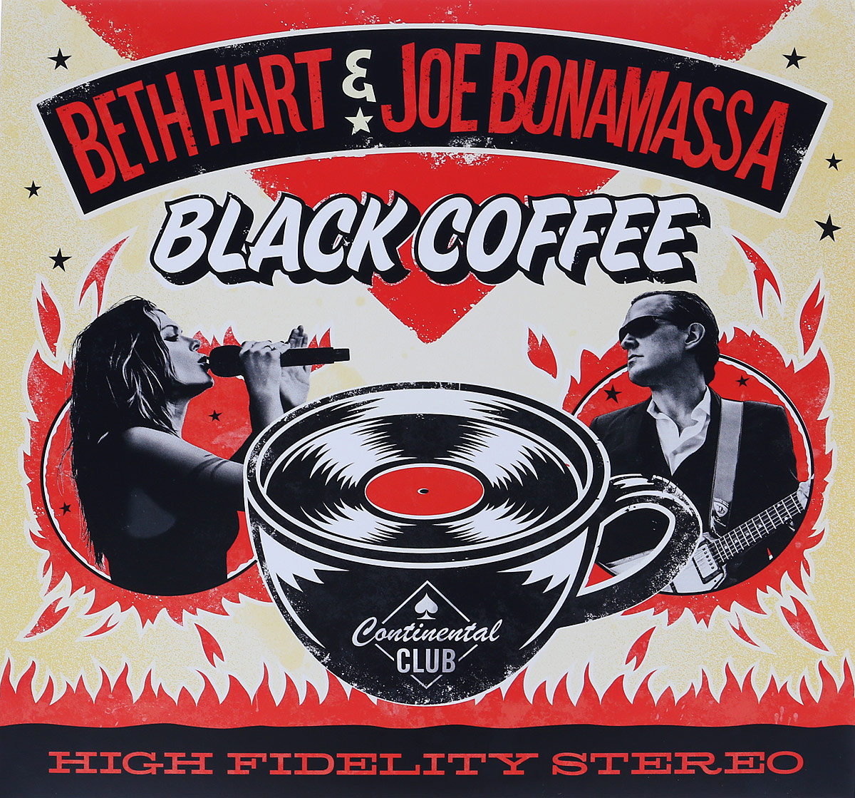 Бет Хат,Джо Бонамасса Beth Hart & Joe Bonamassa. Black Coffee (2 LP) beth hart beth hart leave the light on 2 lp colour
