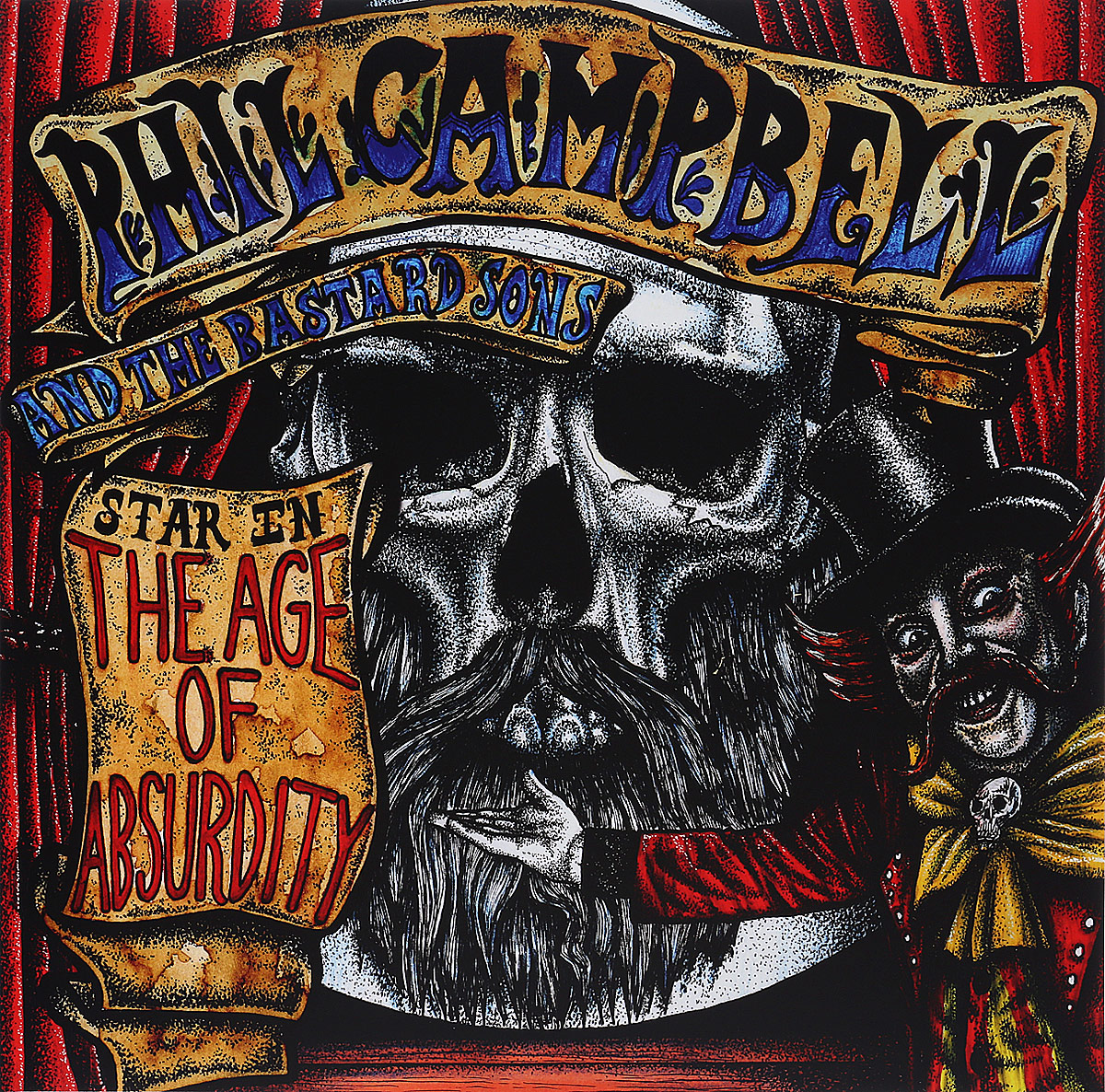 Фил Кэмпбелл,The Bastard Sons Phil Campbell And The Bastard Sons. The Age Of Absurdity (LP)