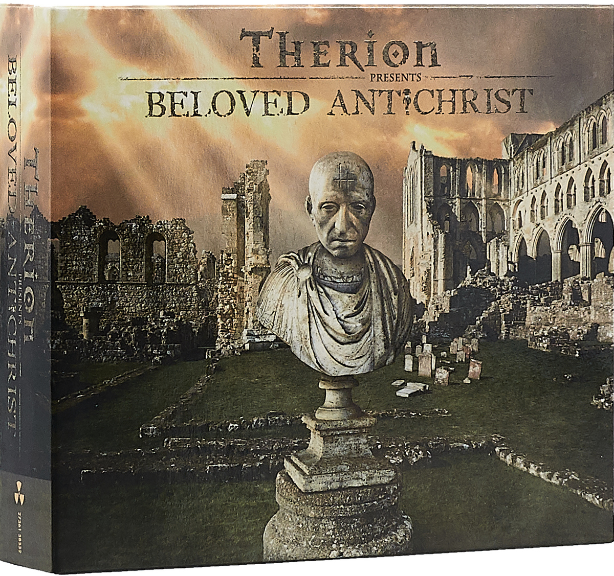 Therion Therion. Beloved Antichrist (3 CD) cd therion beloved antichrist