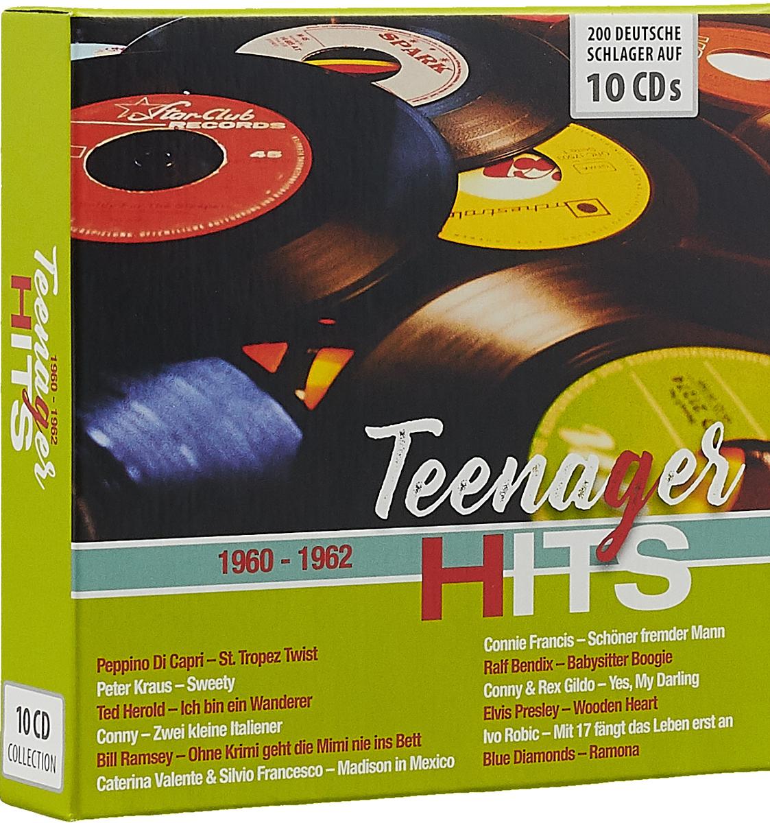Рекс Гилдо,Нана Мускури Teenager Hits (10 CD) roland kaiser fernando express рекс гилдо ibo питер орлоф томми стейнер андреа джаргес патрик линдлер disco fox charts der 80er jahre 2 cd