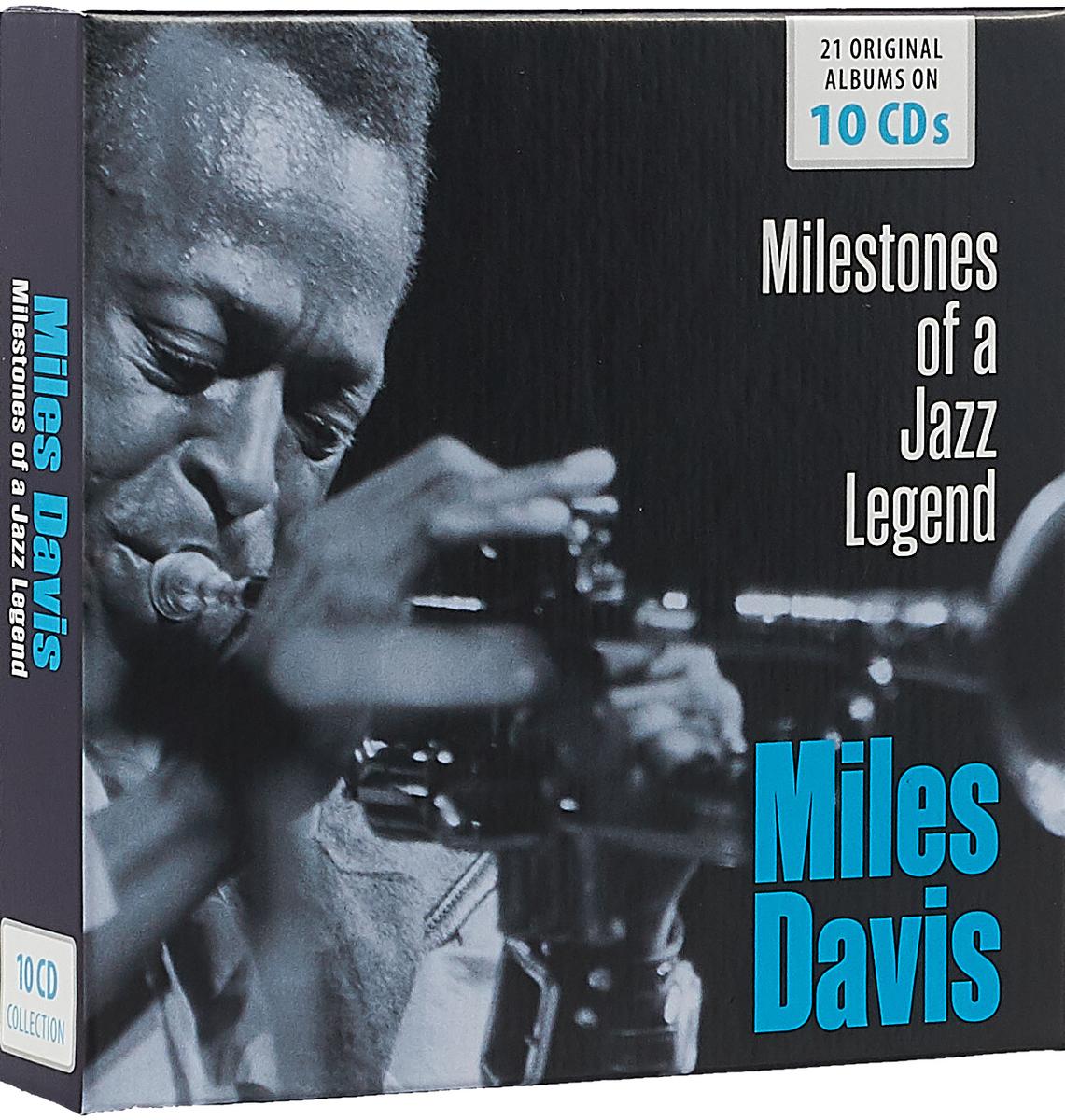 лучшая цена Майлз Дэвис Miles Davis. Milestones Of A Jazz Legend (10 CD)