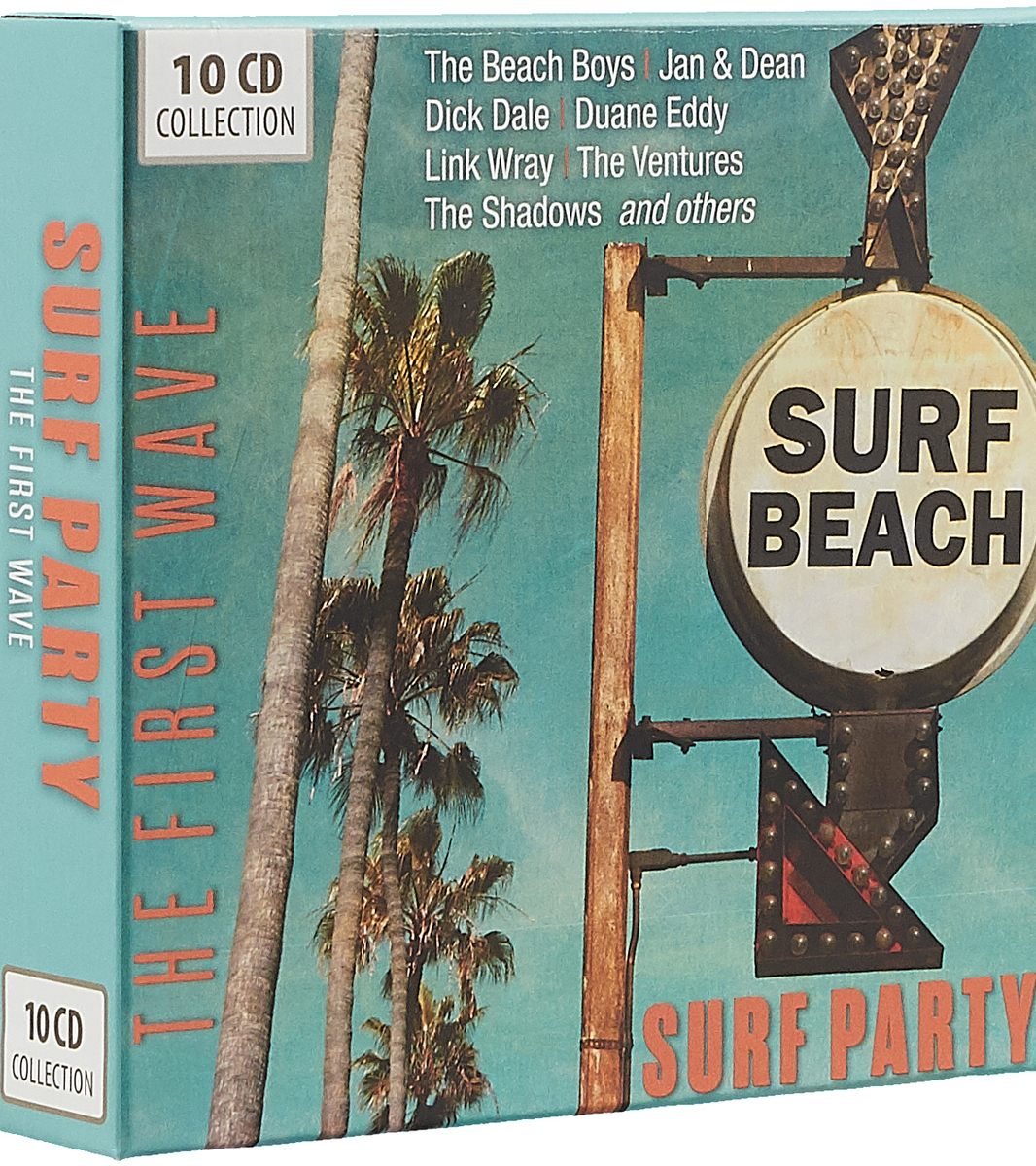 The Beach Boys,Jan & Dean,Дик Дейл Surf Party. The First Wave (10 CD) the beach boys the beach boys greatest surf hits