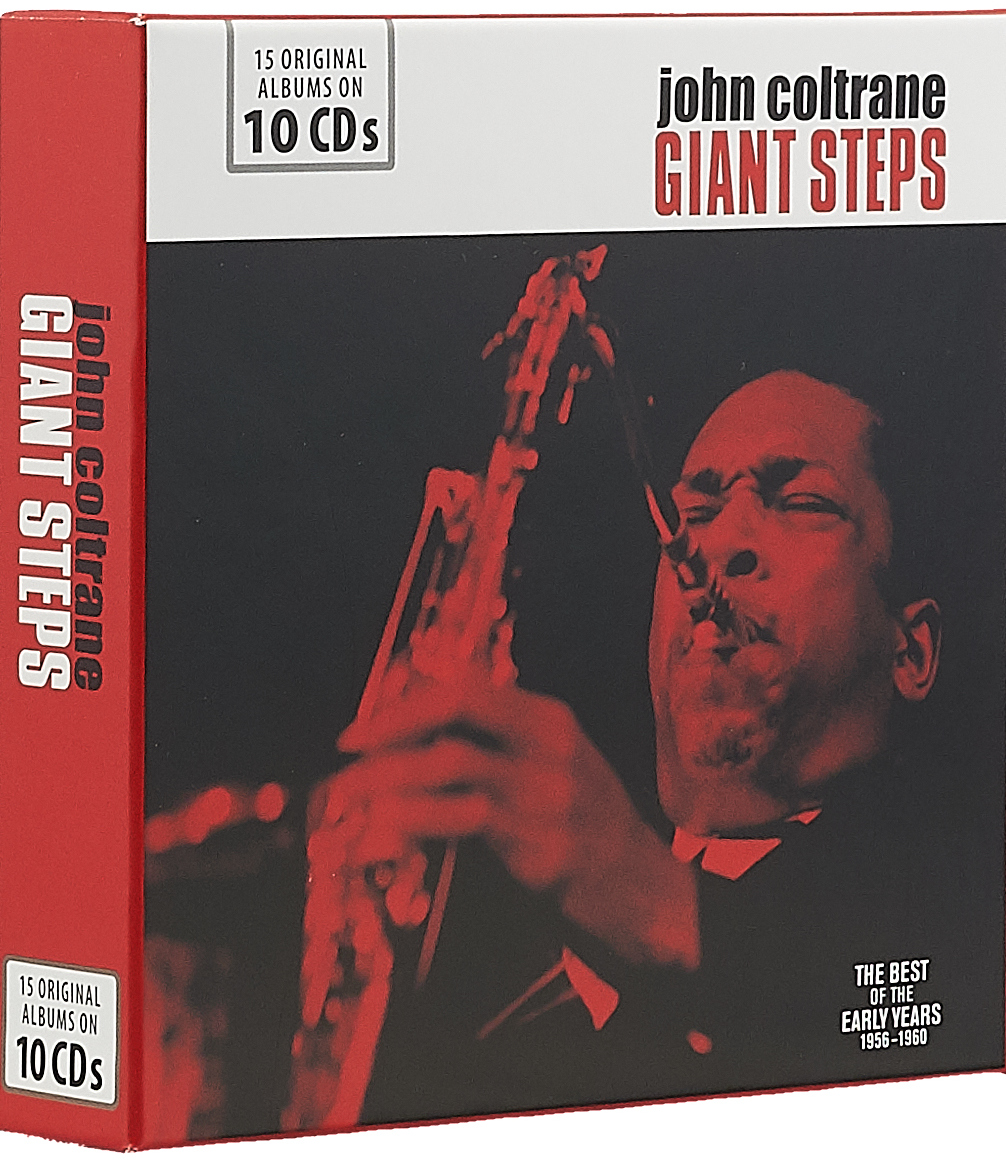 Джон Колтрейн John Coltrane. Giant Steps - The Best Of The Early Years (10 CD) джон колтрейн john coltrane giant steps the best of the early years 10 cd