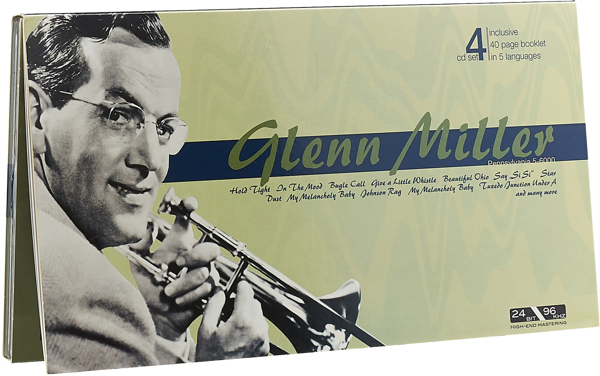 Гленн Миллер Glenn Miller. Portrait (4 CD) цена и фото