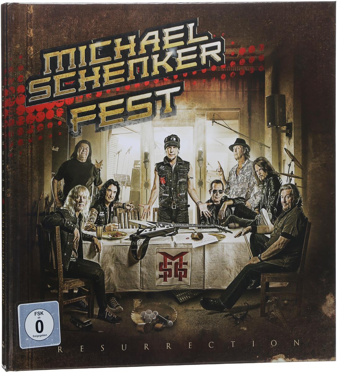 Michael Schenker Fest Michael Schenker Fest. Resurrection (CD + DVD) various artist facedown fest 2004 2 dvd