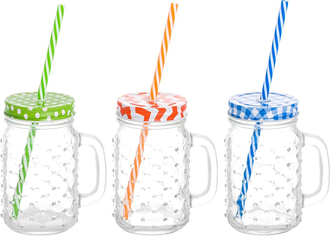 Набор кружек Elan Gallery Пузыри, для глинтвейна, коктейля. 300099 набор цветных кружек elan gallery сова для глинтвейна коктейля 300105