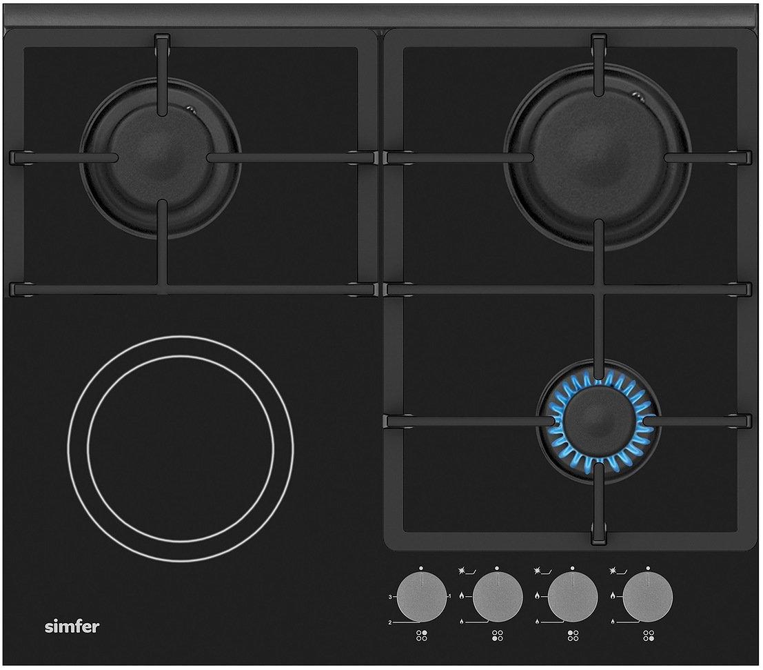 Simfer H60H32S512 панель варочная комбинированная цены