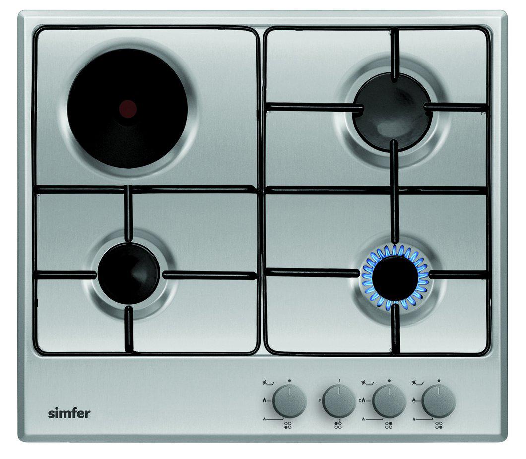 Варочная панель Simfer, комбинированная, встраиваемая, H60V31O517 цены