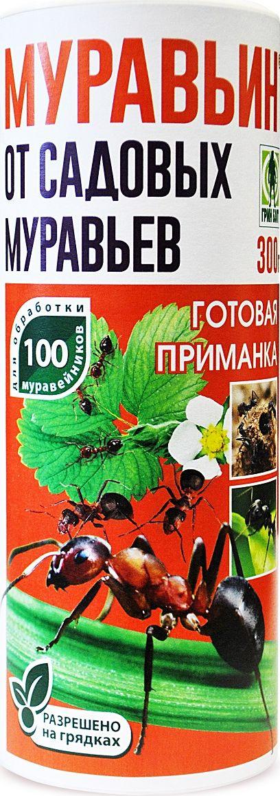 Порошок для уничтожения садовых муравьев Грин Бэлт Муравьин, Г, 300 г кронштейн декоративный грин бэлт петух для подвесных кашпо